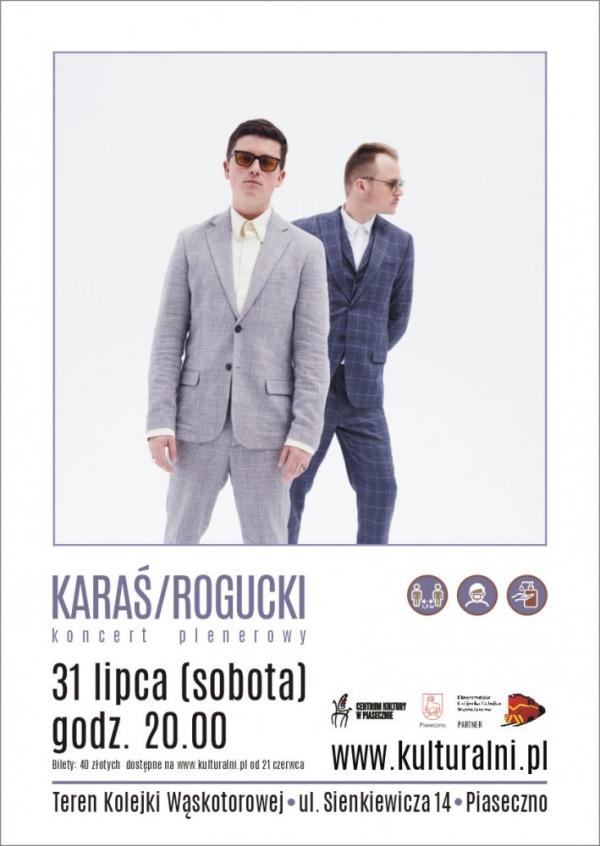Koncert plenerowy: KARAŚ/ROGUCKI