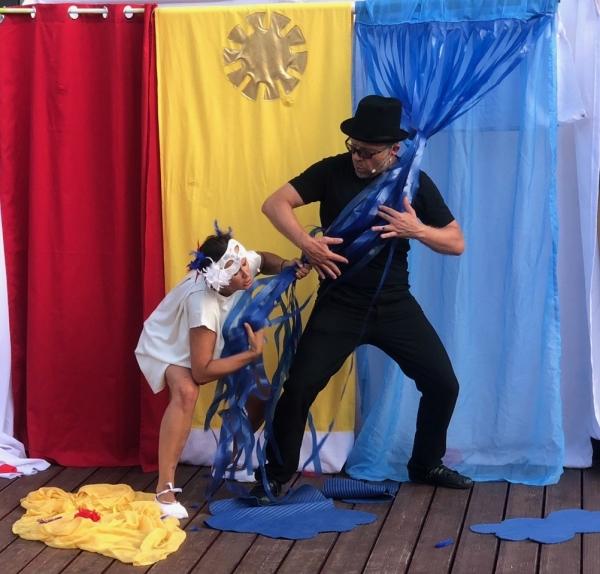 Kolorowy spektakl dla dzieci