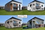 Projekty elewacji / wizualizacje fasady / Elewacje domów